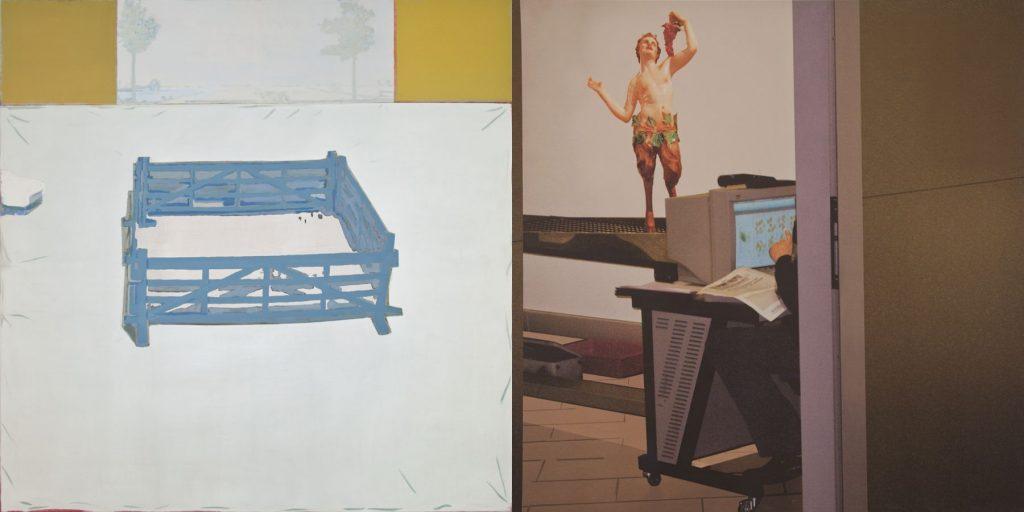 16. Clear Case, 2011-2012, acrylic/tempera/print/canvas, 200 x 400 cm