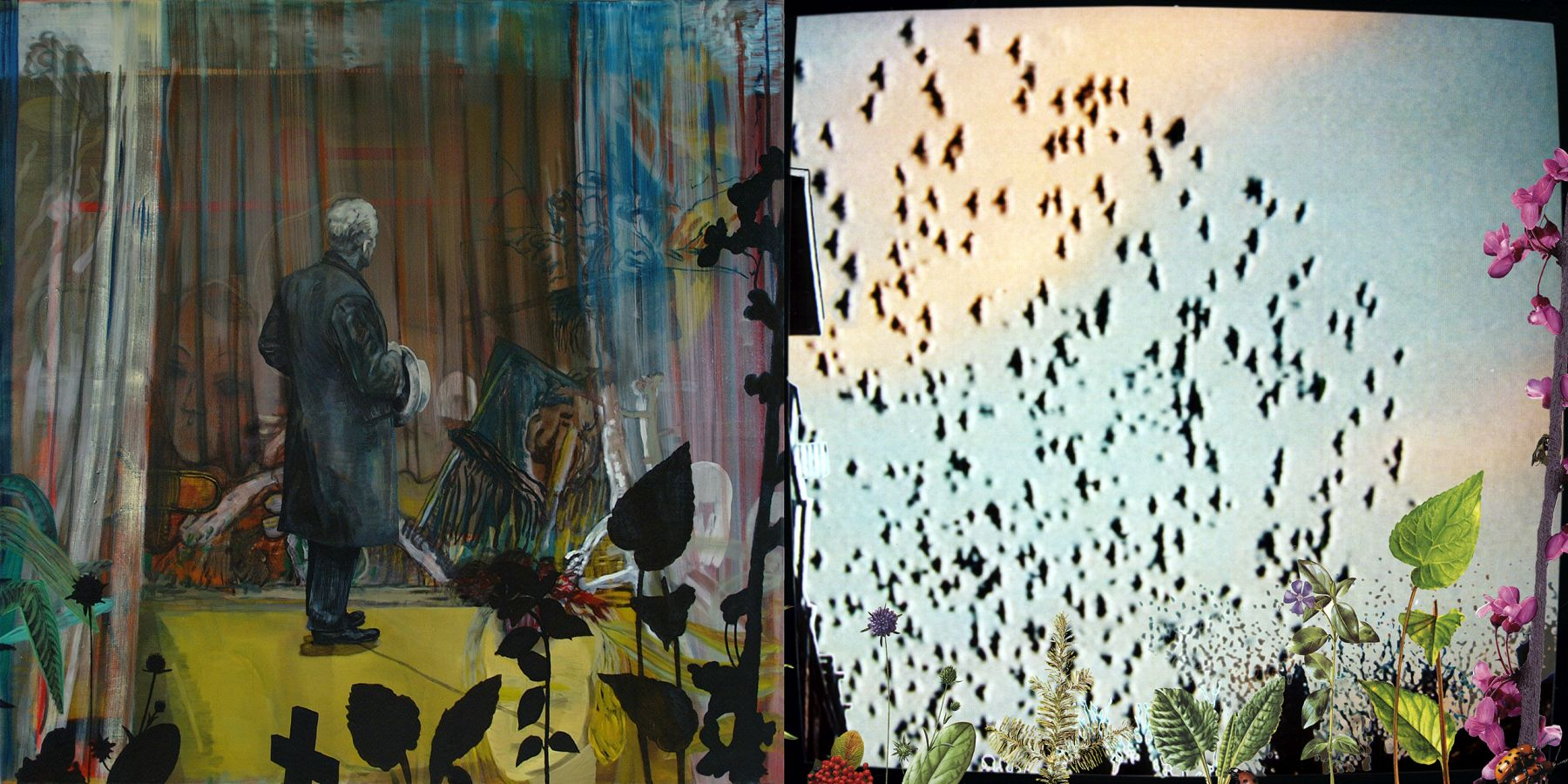 20. The Departure, 2002-2004, acrylic/oil/print/canvas, 200 x 400 cm