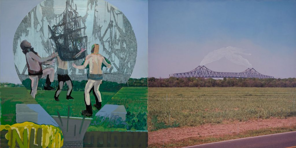 25. Now or Never, 2012, acrylic/tempera/oil/print/canvas, 200 x 400 cm