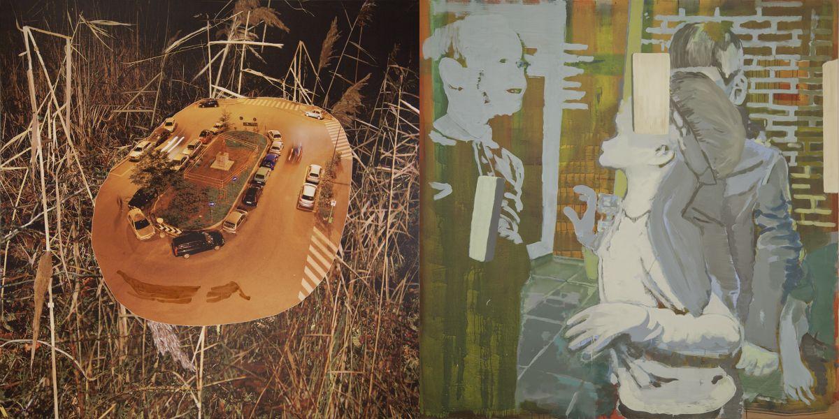 3. Cookies, 2011-2012, acrylic/tempera/oil/print/canvas, 200 x 400 cm