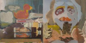 Duck, mixed media, 20 x 40 cm, 2019-2020