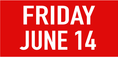 Friday june 14