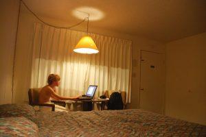 Motel Blythe, USA, 2007, 100 x 67 cm, print on HM Germ.Etch.