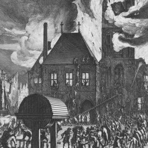 Amsterdam Burning, 2017, print, 210 x 112 cm
