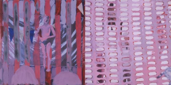 Bakkum, 2014, print/acryl/paper, 20 x 40 cm