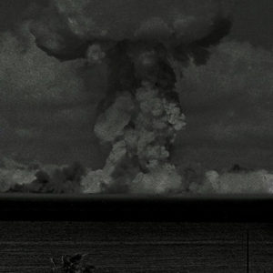 Bikini Beach Bomb, 2017, print, 210 x 112 cm
