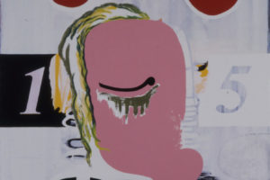Figure Head, 1992, acryl/oil/canvas, 140x100cm