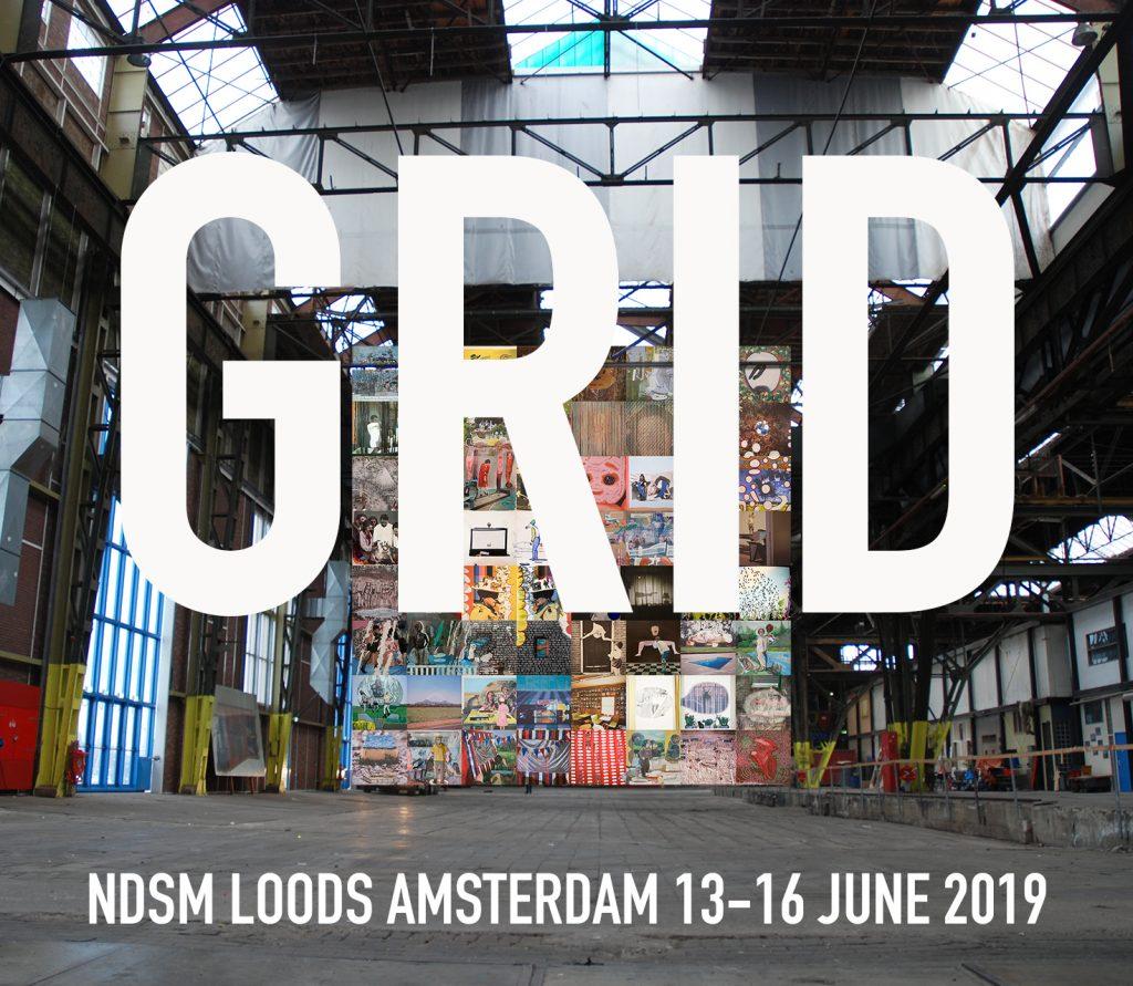 Robert Smit, GRID, Exhibition NDSM Loods, Amsterdam, 13 t/m 16 June 2019