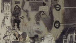 Jane, 1997, Drawing/Silkscreen/Paper, 100x75cm