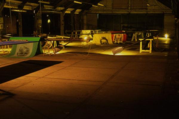 Robert_Smit_Lamp_Post_Factory3_1995_mixed_media_installation_2500x600x500cm