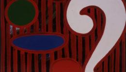 Q&A,1992, acryl/oil/canvas, 175x140cm