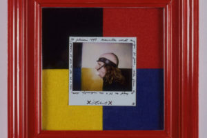 Self Portrait, framed polaroid, 1993