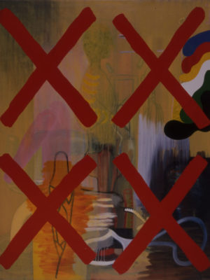 Triple X, 1992-1993, acryl/oil/canvas, 175x140cm
