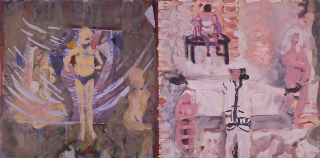 New Series, selection of sketches 2014-2016