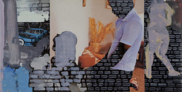 Wall Movie, 2014, print/acryl, 20 x 40 cm