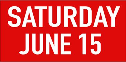 Saturday june 15